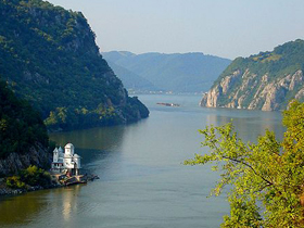 The Danube near Iron Gate
