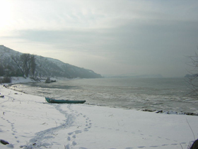 The Danube near Nikopol